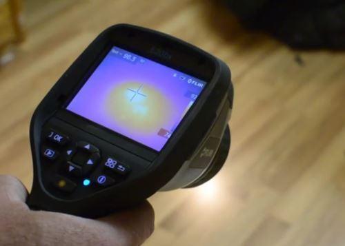 slab leak detection device